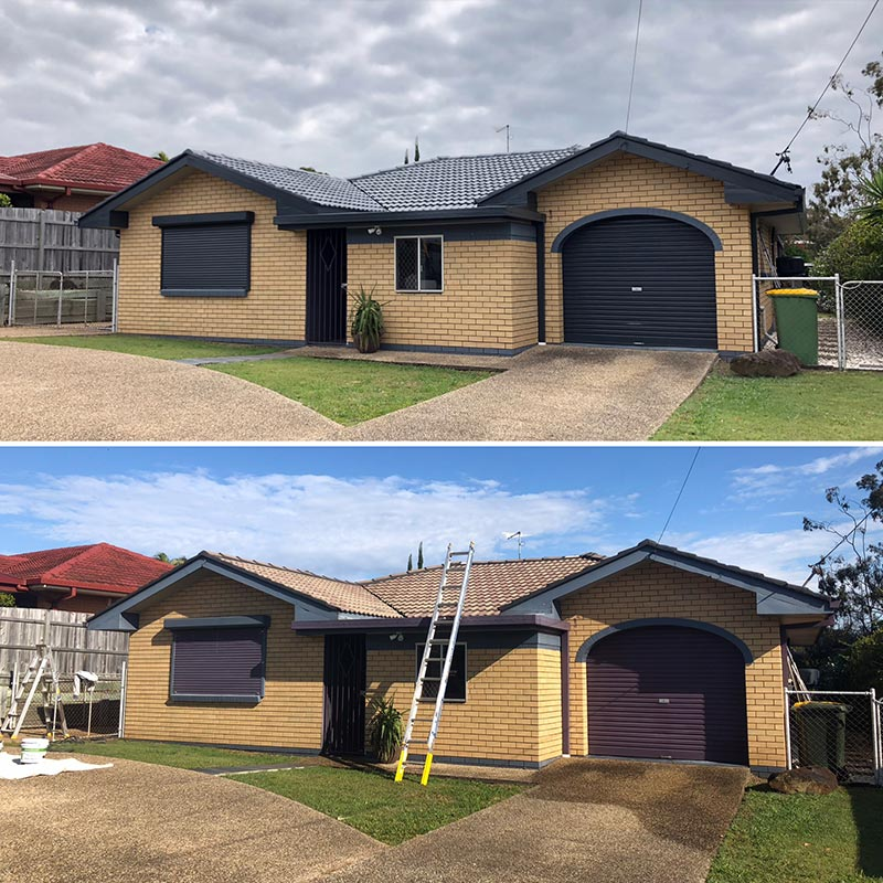 Roof Restorations Before & After