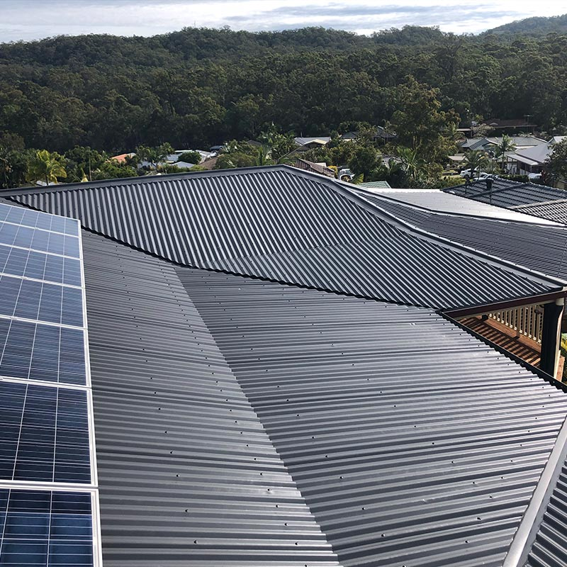 Colorbond Roof Restorations Brisbane