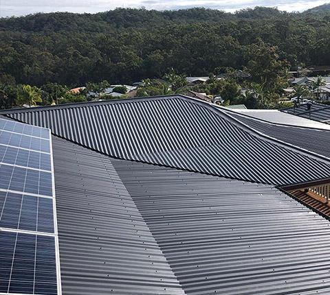 Brisbane Roof Repairs - Colorbond roof