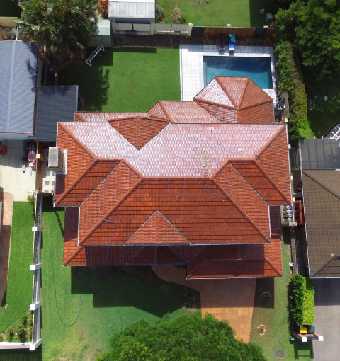 Right Roofing Restorations Terracotta Roof