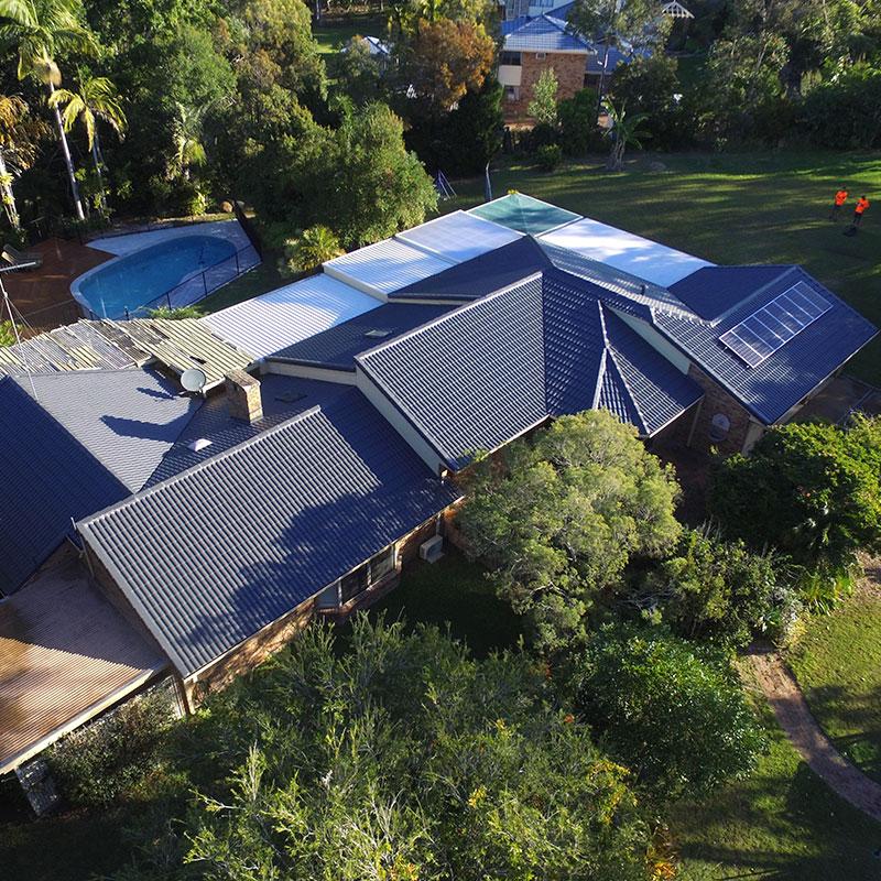 Roof Restoration Tiled SE QLD