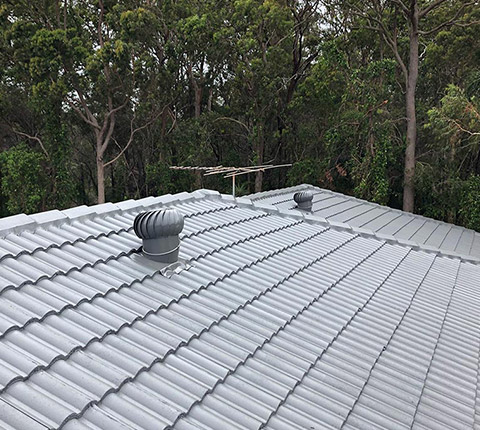 Roof Restoration Tiled SE QLD