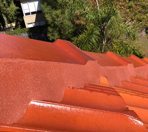 Right Roofing Restorations Terracotta Tiled Roof