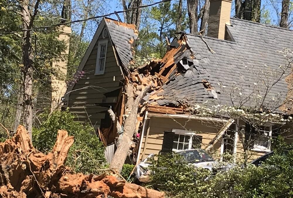 Storm Damaged Roof – What Should I Do?